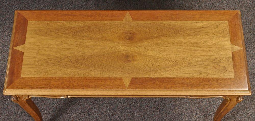 KNABE BURL WALNUT BABY GRAND PIANO - 7