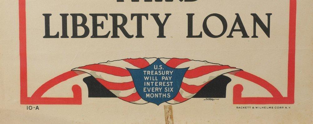 4 WWI LIBERTY BOND POSTERS - 4