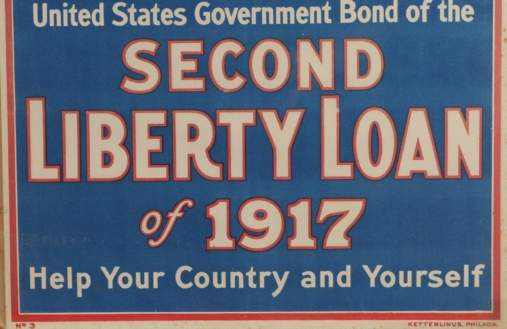 4 WWI LIBERTY BOND POSTERS - 5