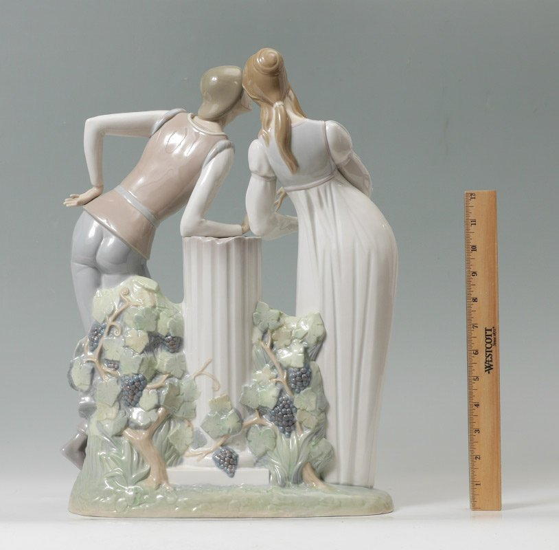 LLADRO PORCELAIN FIGURINE ROMEO AND JULIET #4750 - 2