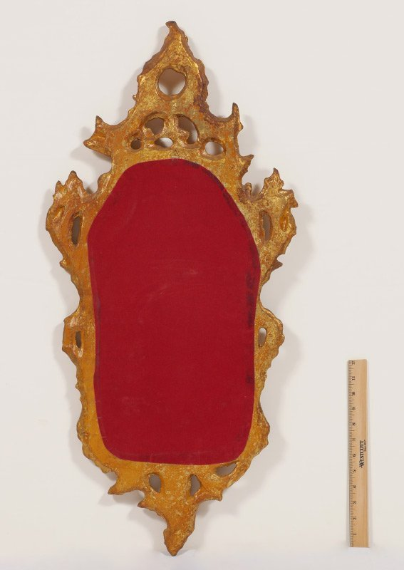 CARVED GILT WOOD ROCOCO STYLE MIRROR - 3