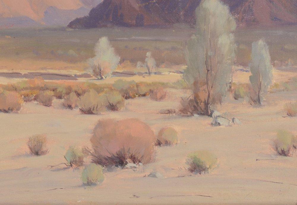 BICKERSTAFF WESTERN DESERT LANDSCAPE PAINTING - 3