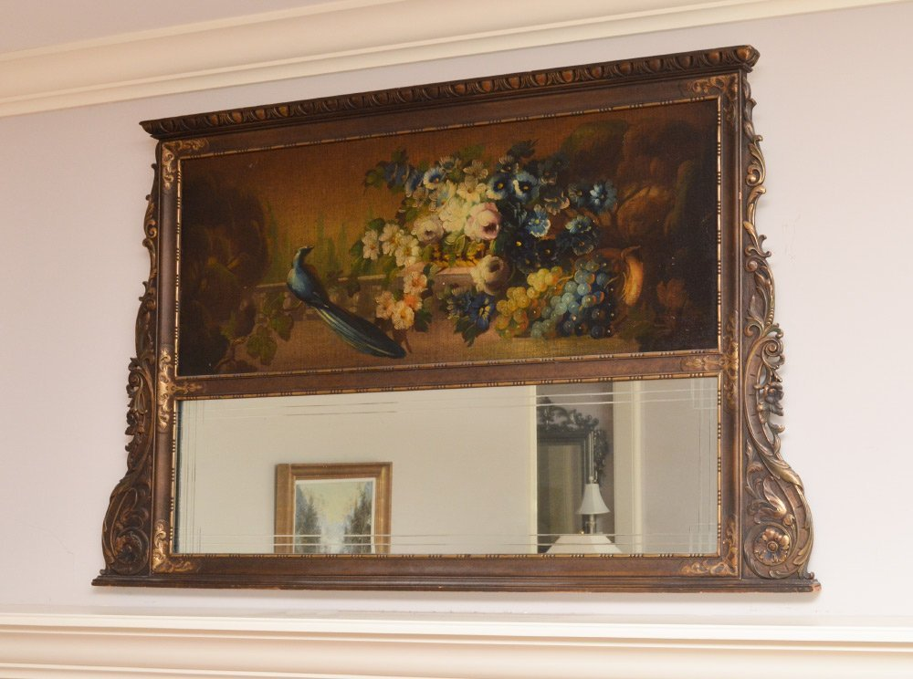 STILL LIFE PAINTING AND MIRROR