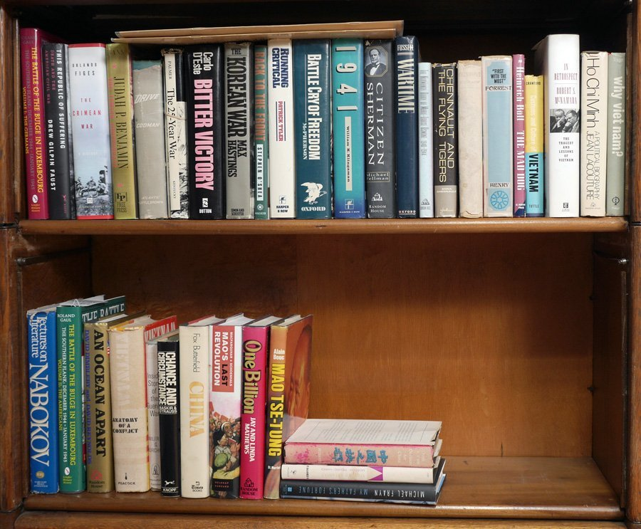COLLECTION OF WAR, CHINA & VIETNAM RELATED BOOKS