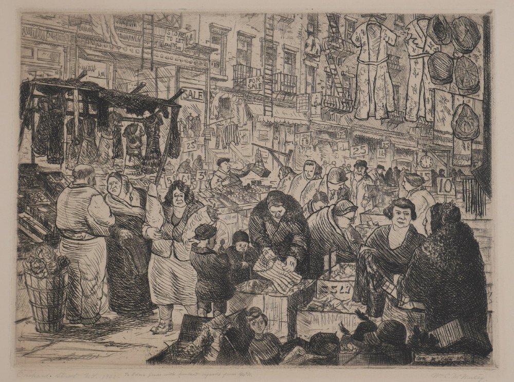 MCNULTY ORCHARD STREET 1933