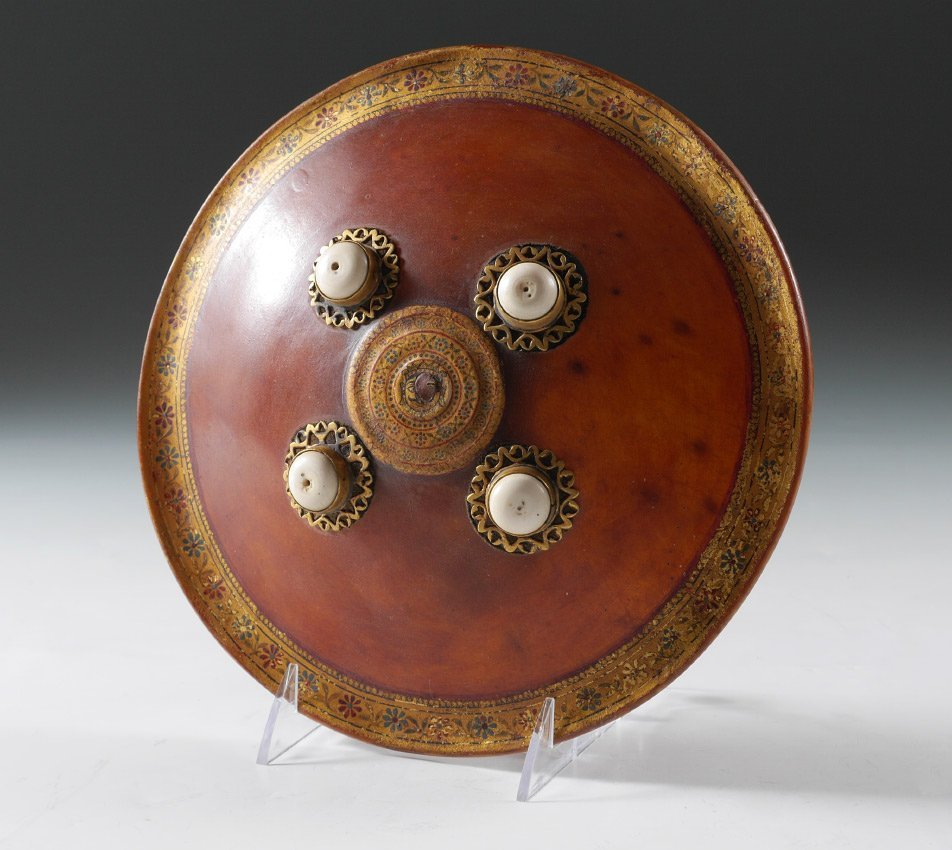 CHILD'S INDO-PERSIAN TOY SHIELD
