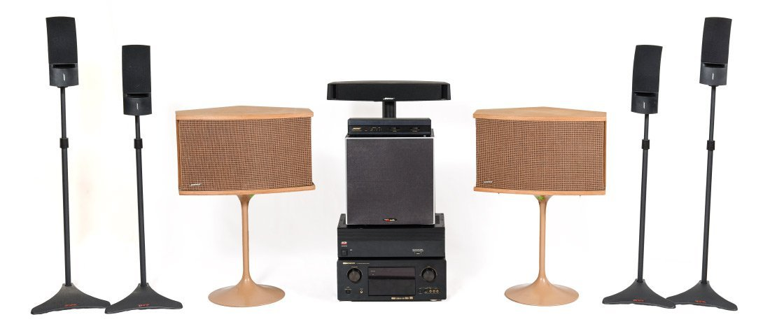 7.1 SOUND SYSTEM WITH BOSE SPEAKERS