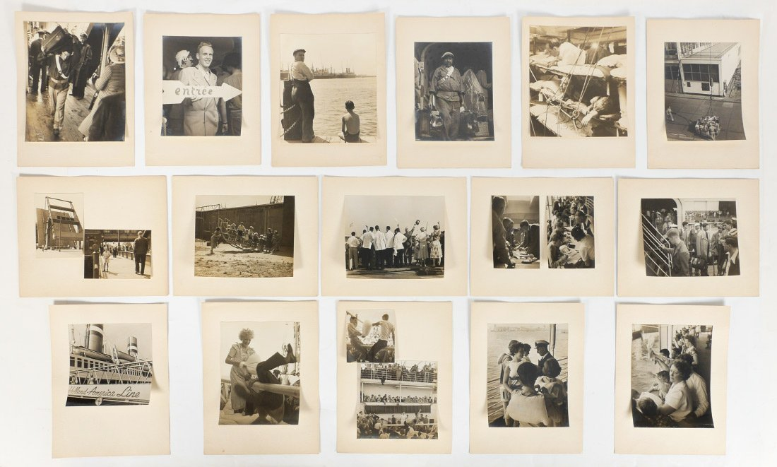 COLLECTION OF FRITZ HEBBERLING PHOTOGRAPHS
