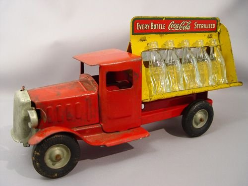 2: METALCRAFT TOY COCA-COLA BOTTLING TRUCK