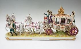 GERMAN SHEIBE-ALSBACH NAPOLEON FIGURAL GROUP
