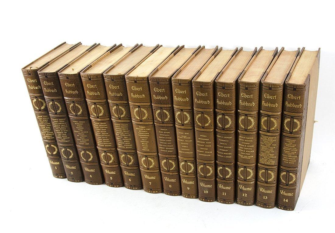 13 VOLUMES THE COMPLETE WRITINGS OF ELBERT HUBBARD