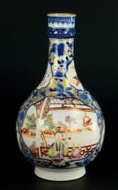 QIANLONG (1735-96) Chinese Porcelain MANDARIN WARE Vase