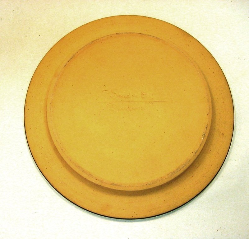 1974 Early James E Sanders Pottery Covered Dish - 9