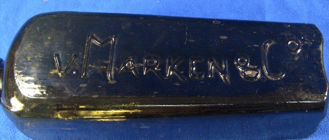 c.1800 VAN V. MARKEN & Co. Dutch Case Gin Bottle - 3