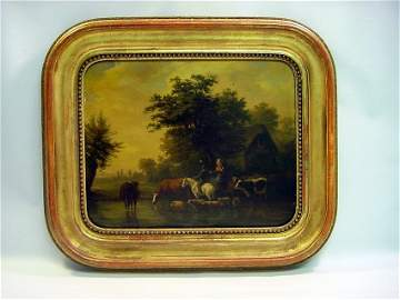 Joseph VERNET (1797-1860) - French Pastoral O/B