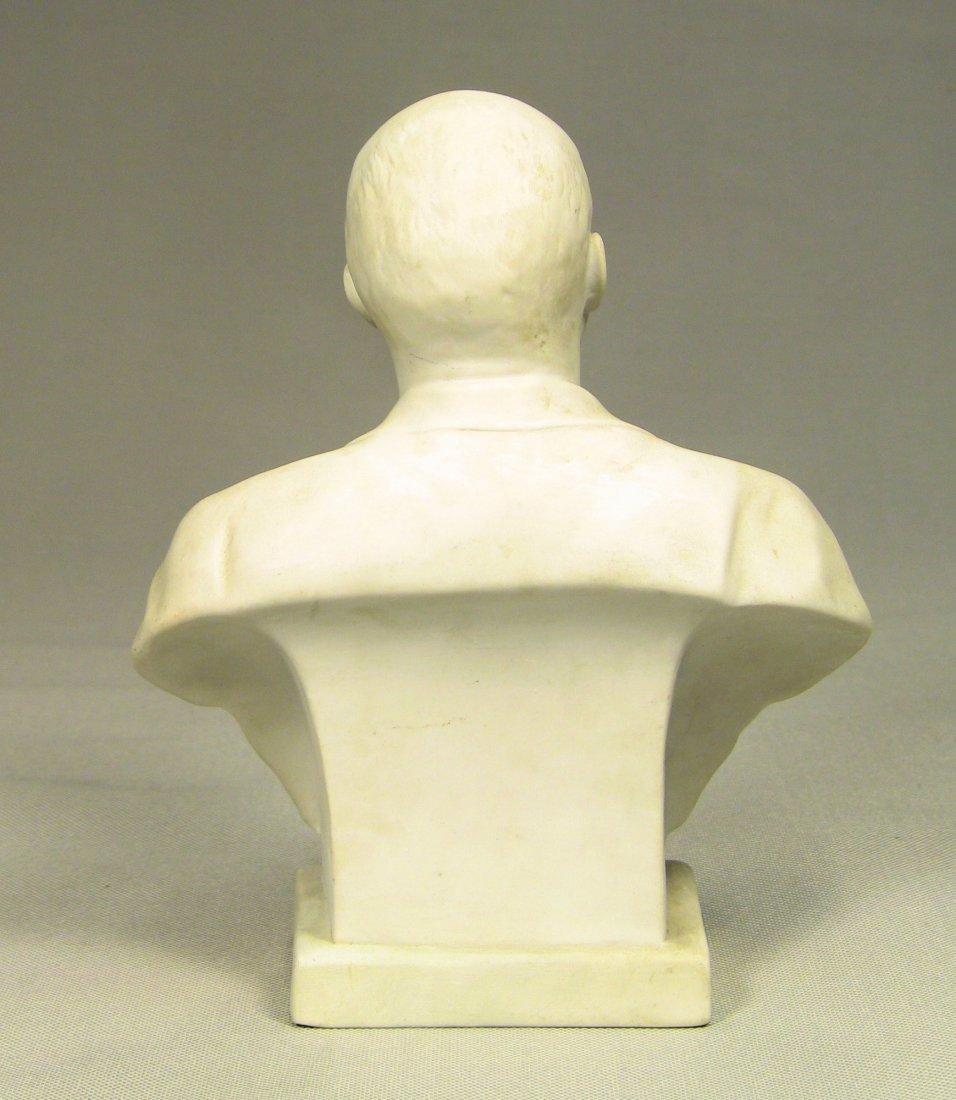 Bust of LENIN Russian LOMONOSOV Factory Fine Bisque - 6