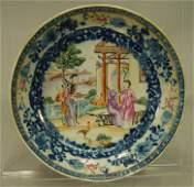 17361795 QIANLONG China Polychrome Porcelain Plate
