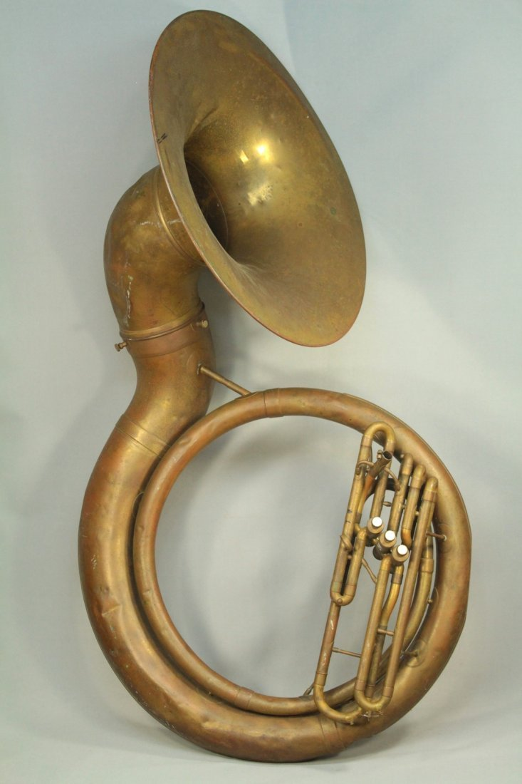 F.E.OLDS & Son Huge Brass Sousaphone Tuba Helicon