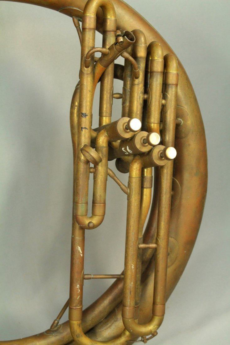 F.E.OLDS & Son Huge Brass Sousaphone Tuba Helicon - 2