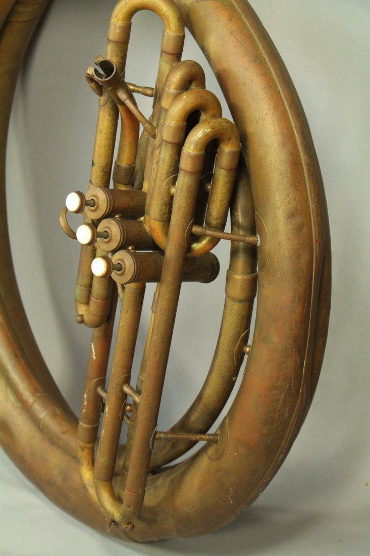 F.E.OLDS & Son Huge Brass Sousaphone Tuba Helicon - 3