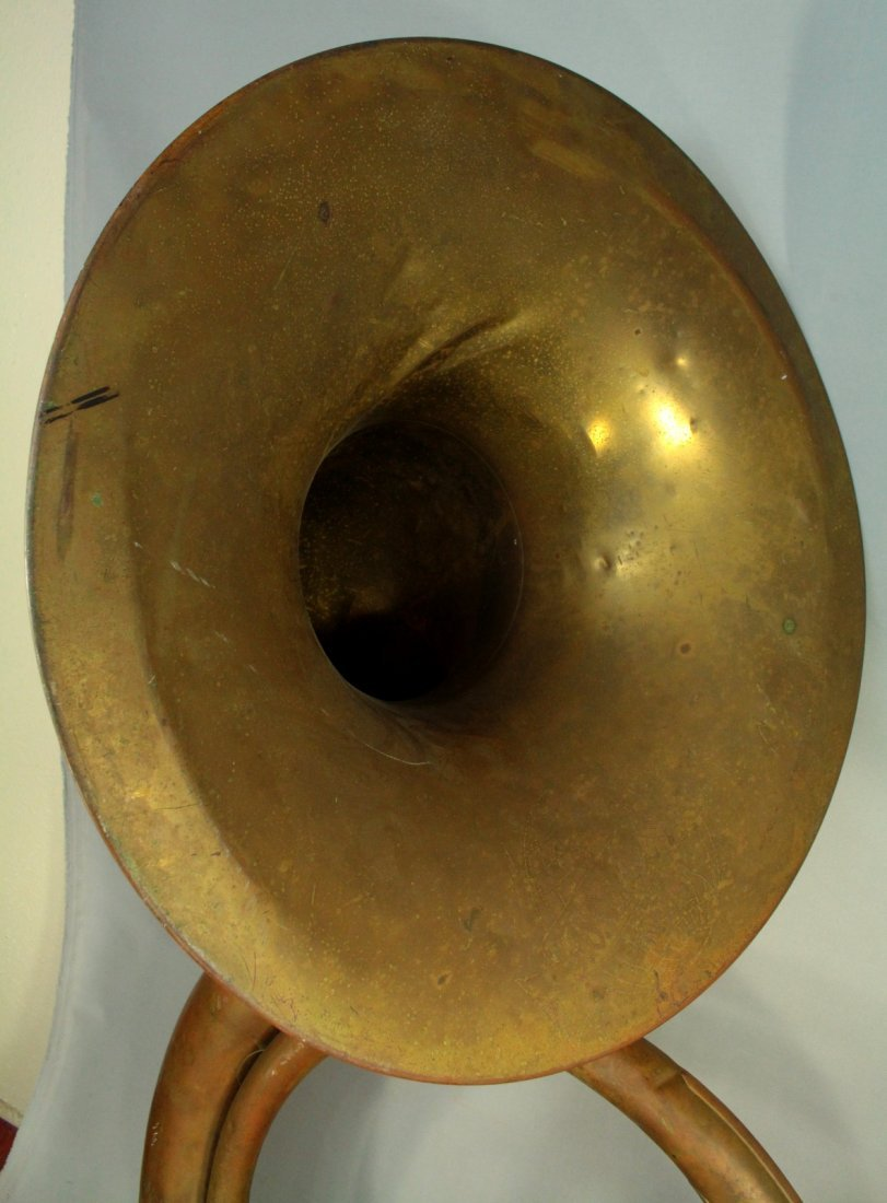F.E.OLDS & Son Huge Brass Sousaphone Tuba Helicon - 5