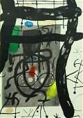 JOAN MIRO 18931983  Abstract Work  Color Litho