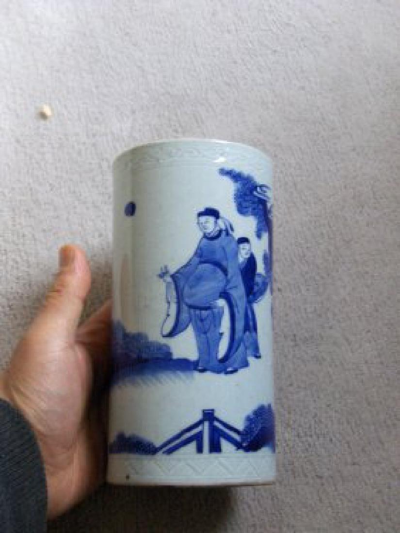 Chinese kangxi brush pot ,museum quality