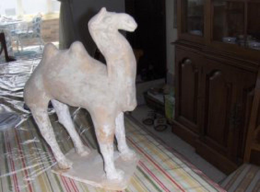tang dynasty camel figure