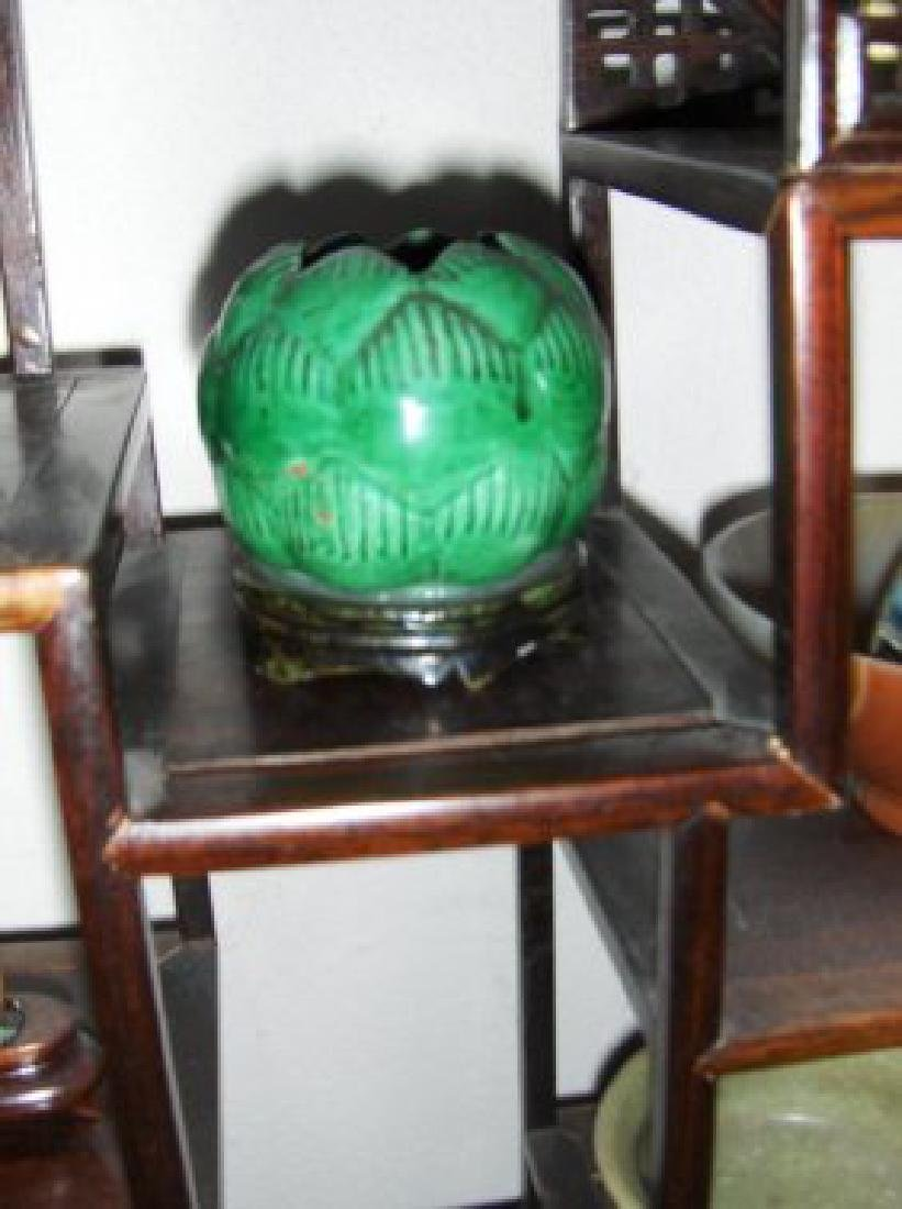ming dynasty or early green bowl
