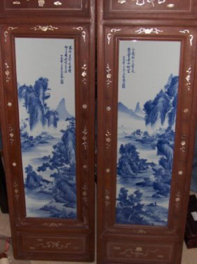 A pair of Chinese plaque, republic