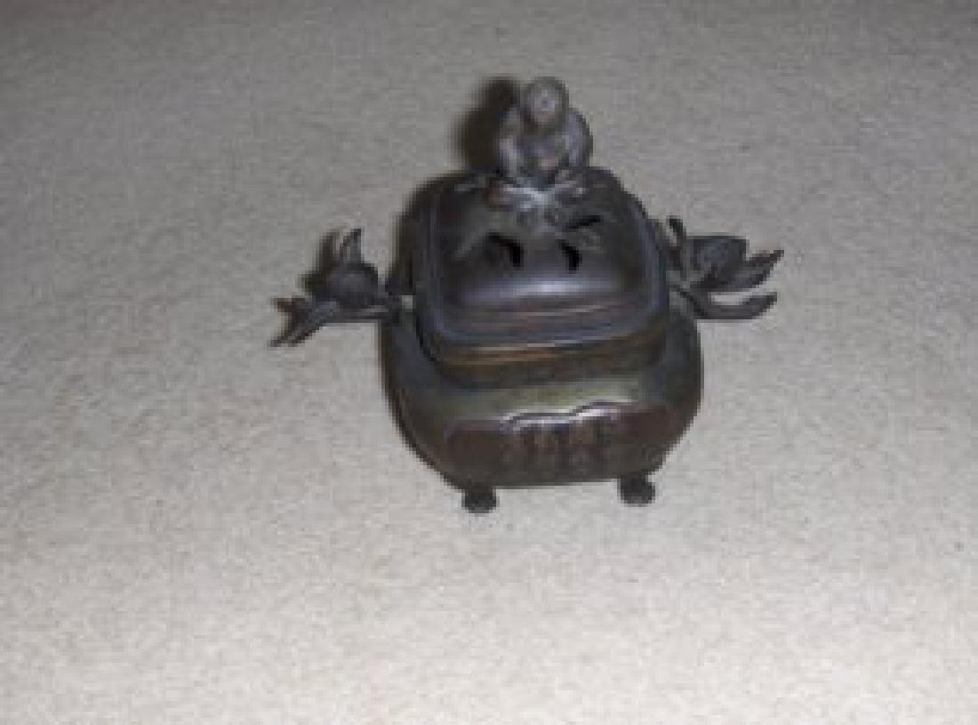chinese qing incense burner.