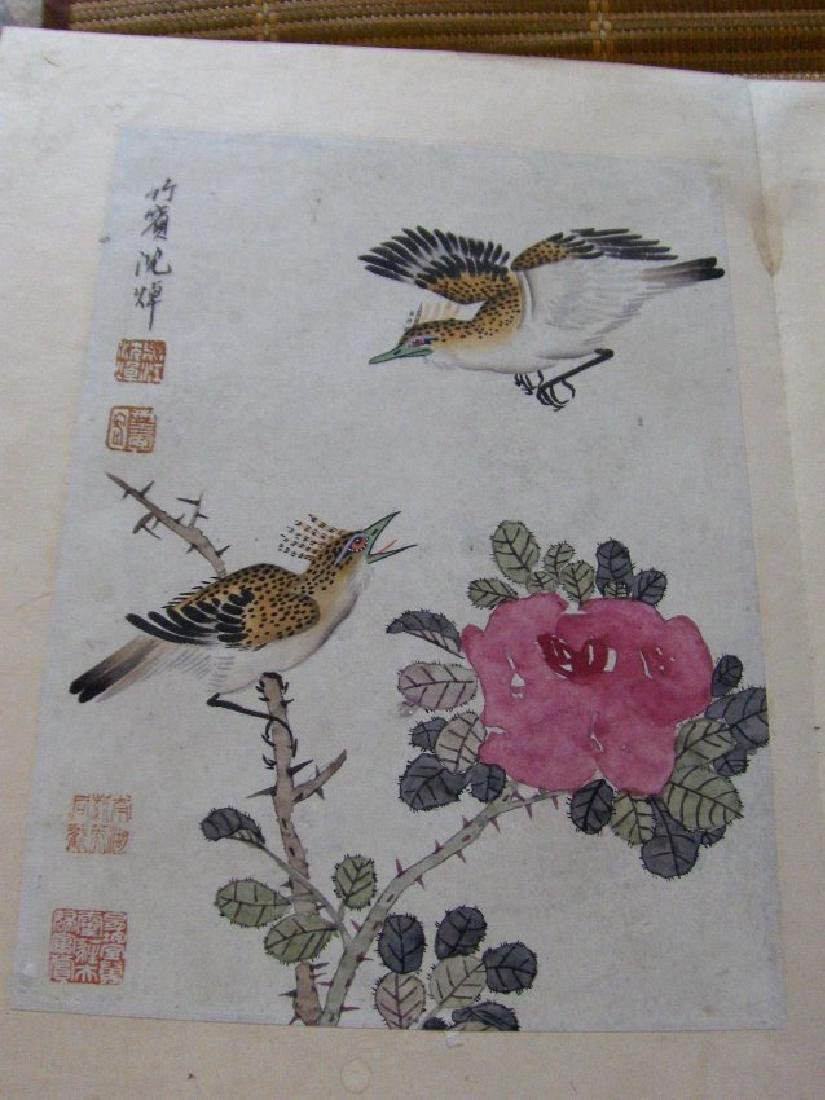 qing dynasty painting book similar to christies HK sold - 2