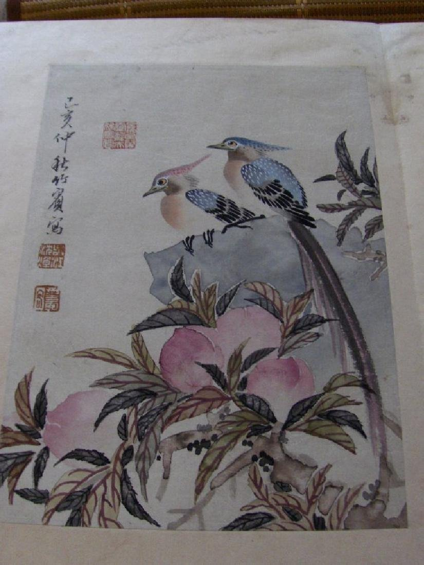 qing dynasty painting book similar to christies HK sold - 3