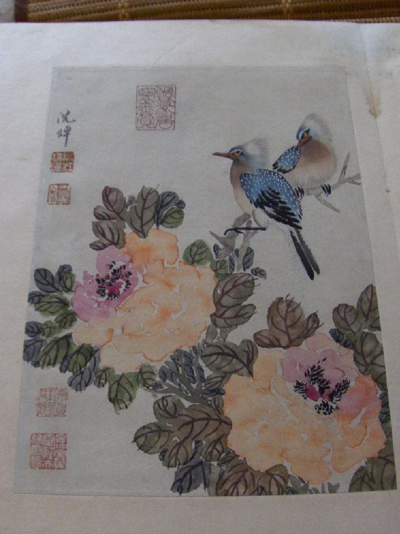 qing dynasty painting book similar to christies HK sold - 4