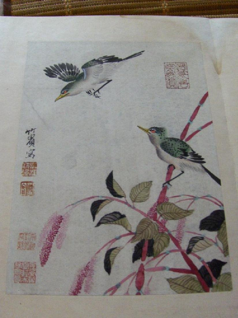 qing dynasty painting book similar to christies HK sold - 6