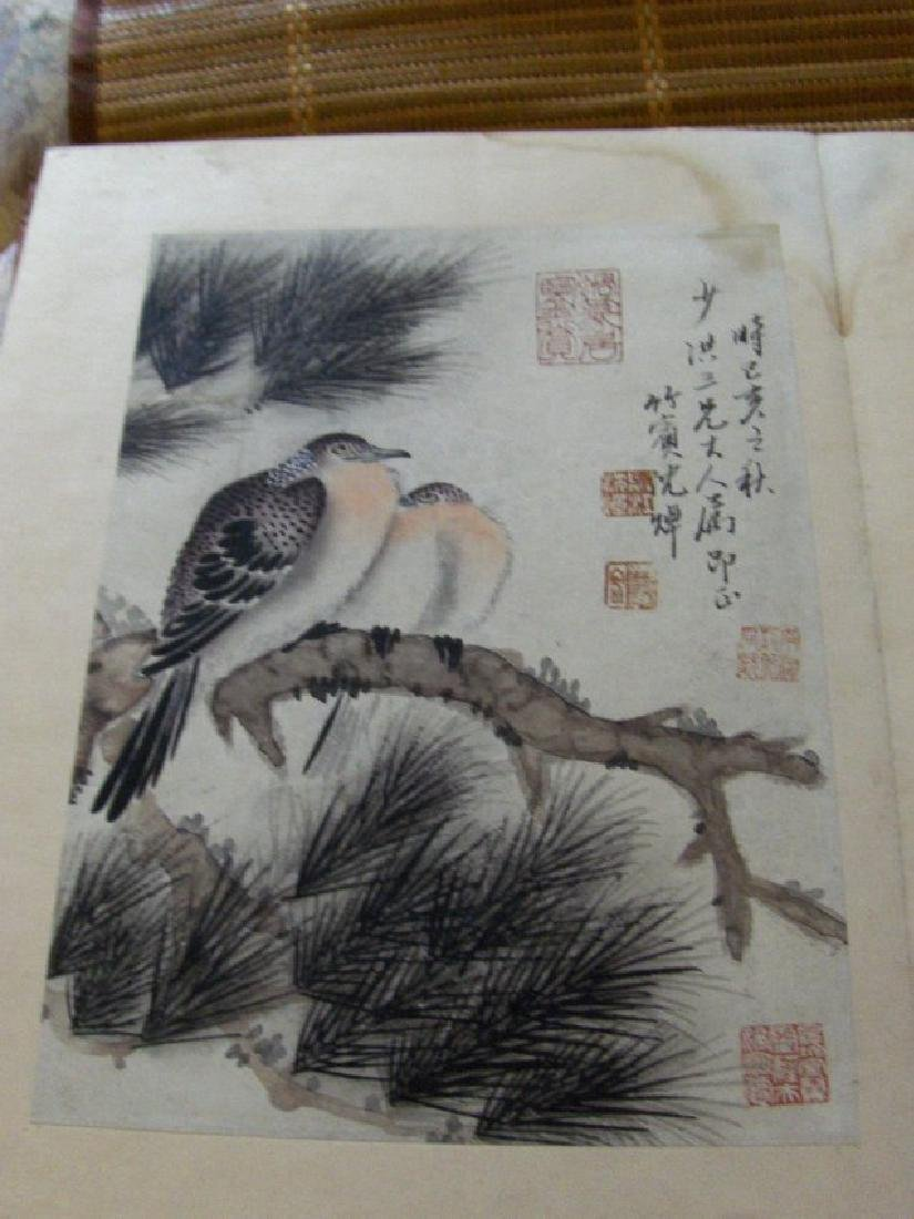 qing dynasty painting book similar to christies HK sold - 7