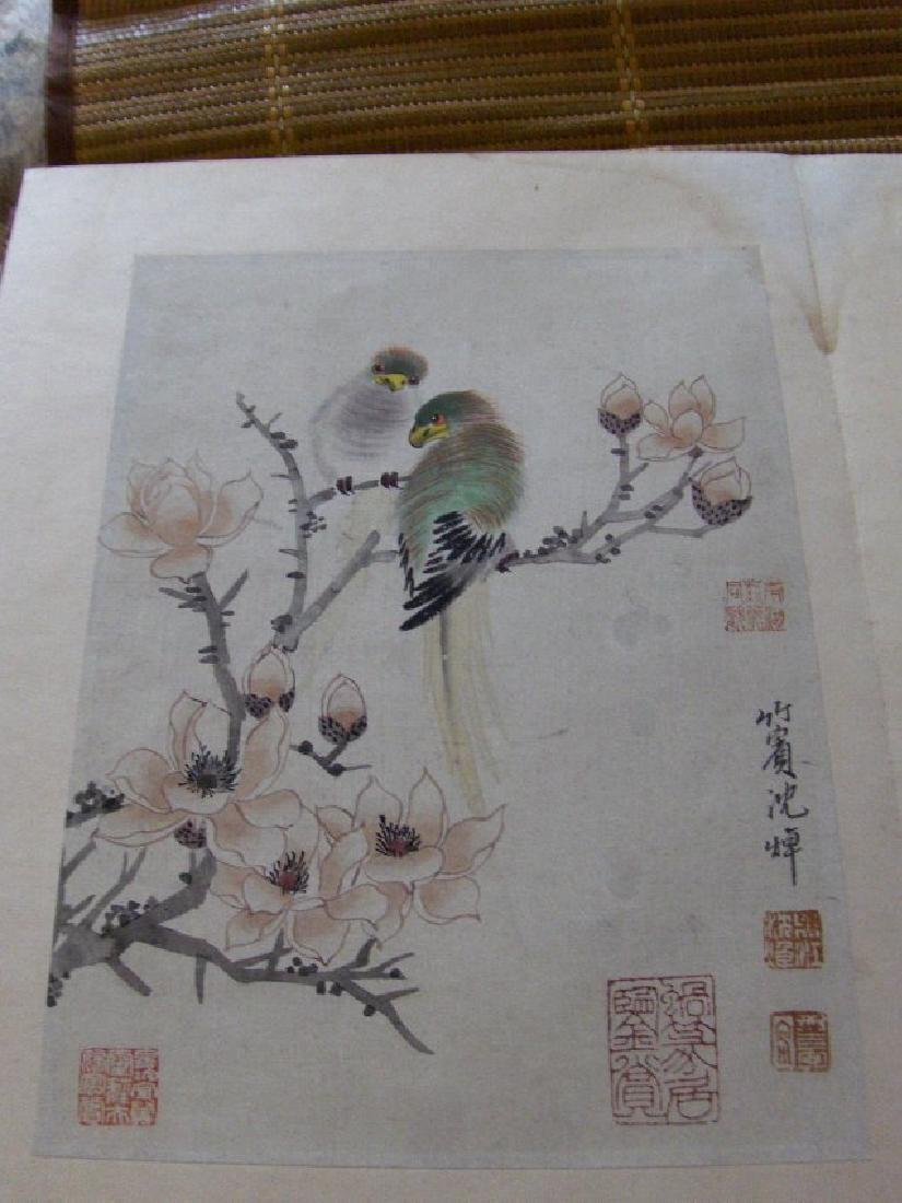qing dynasty painting book similar to christies HK sold - 8
