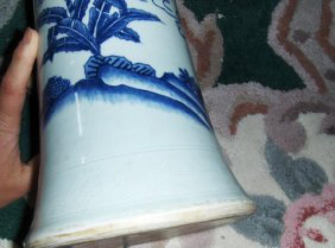 Chinese ming zhongnzhen vase - 3