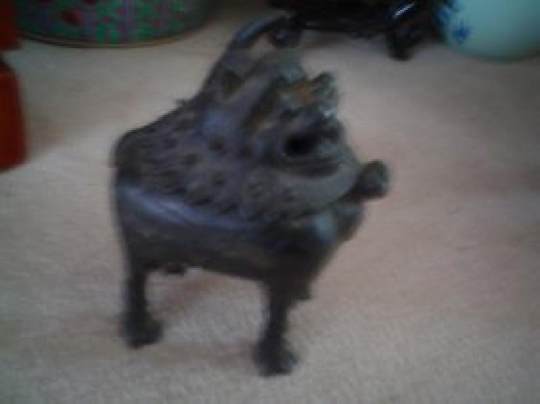 chinese bronze ming dynasty. - 3