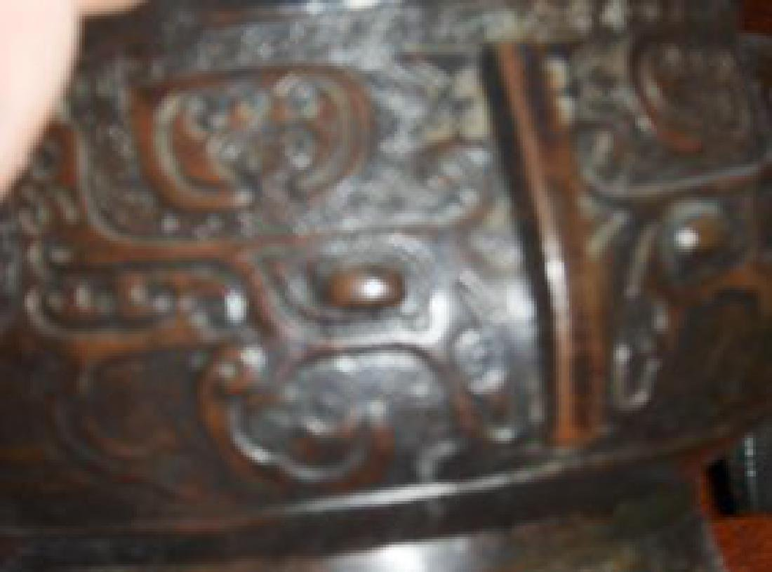 Chinese ming dynasty incense burner - 4