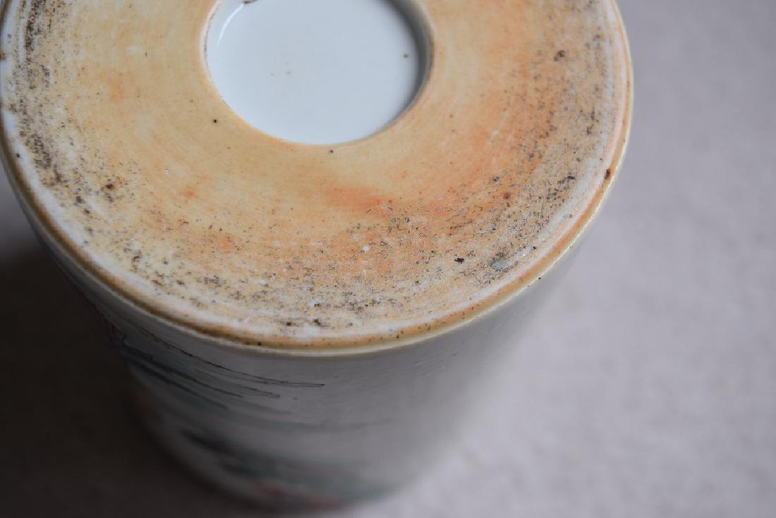 Chinese kangxi small brush pot - 2