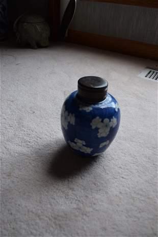 kangxi blue and white jar.