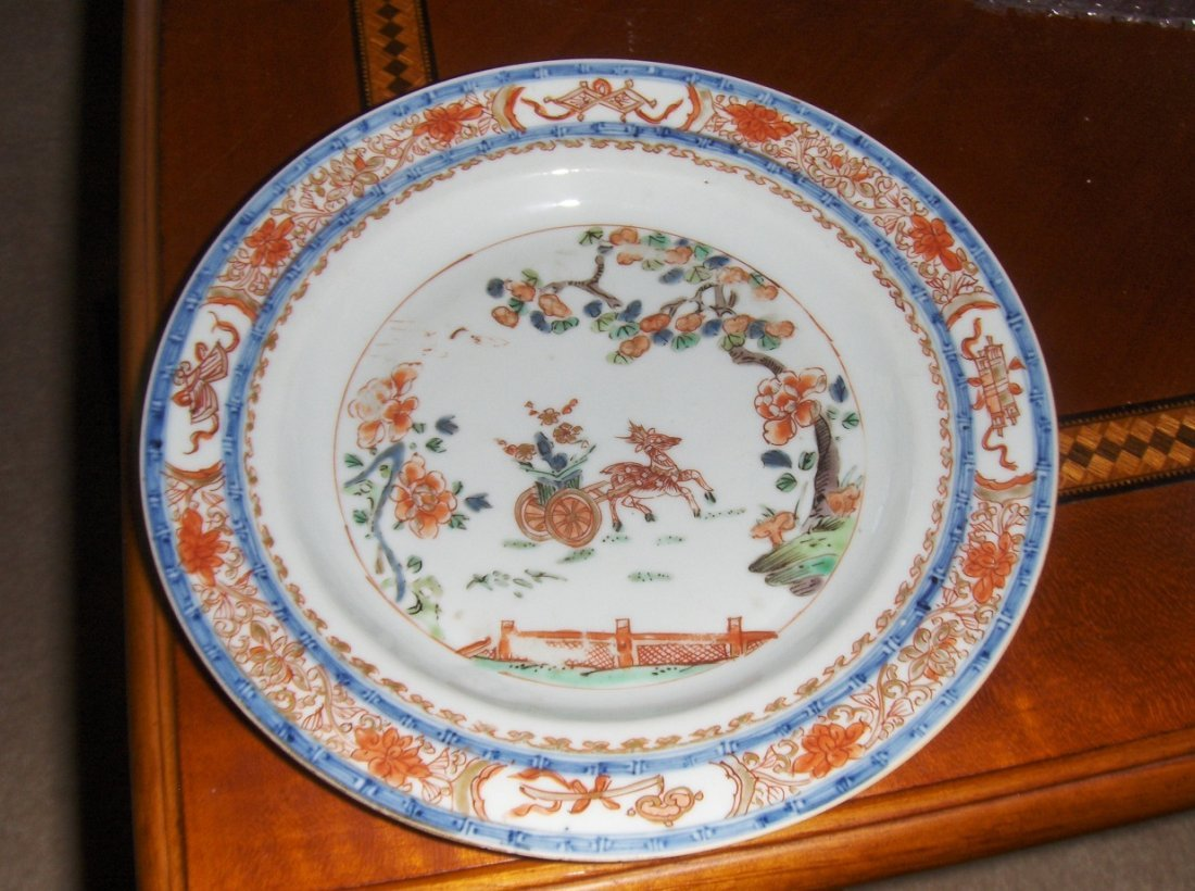 Chinese kangxi export plate