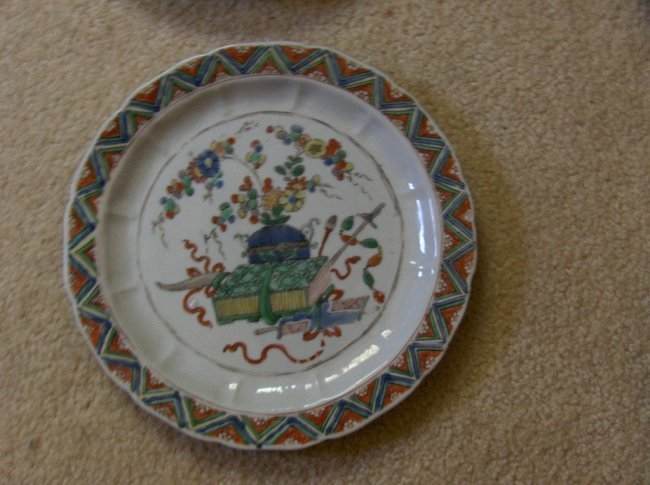 Chinese export possible kangxi plate