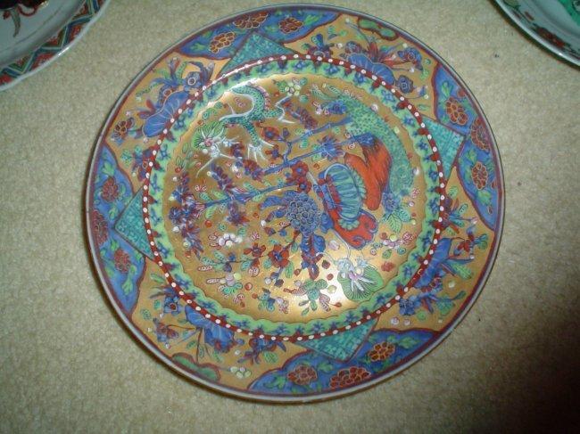 Chinese 18th century plate, very rare,