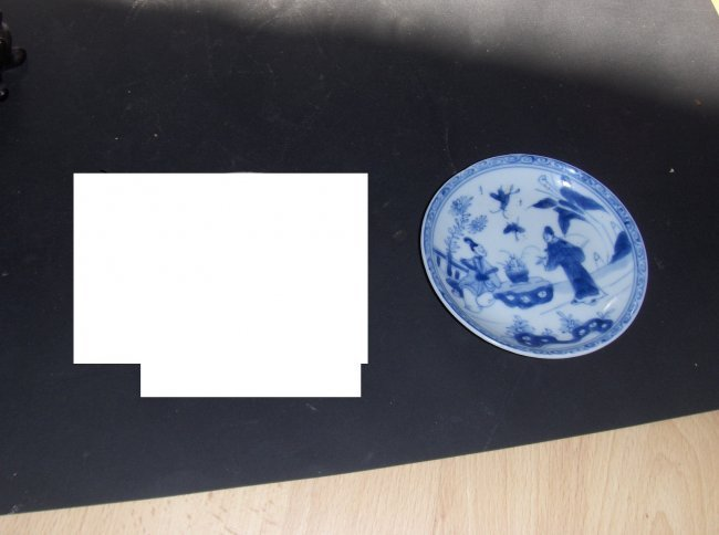 Chinese blue and white small plate