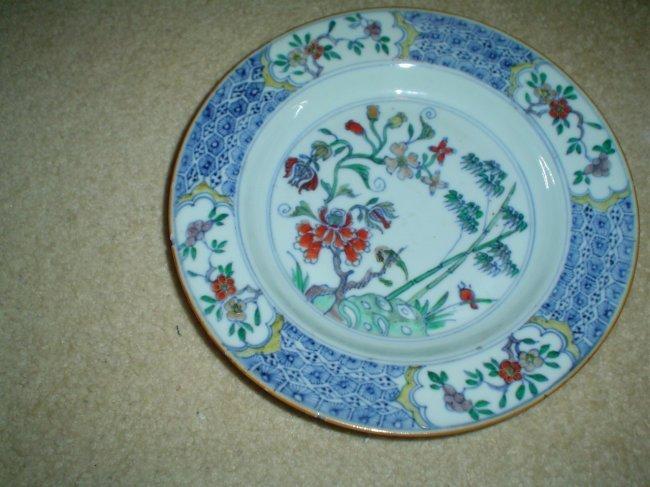 Chinese kangxi plate