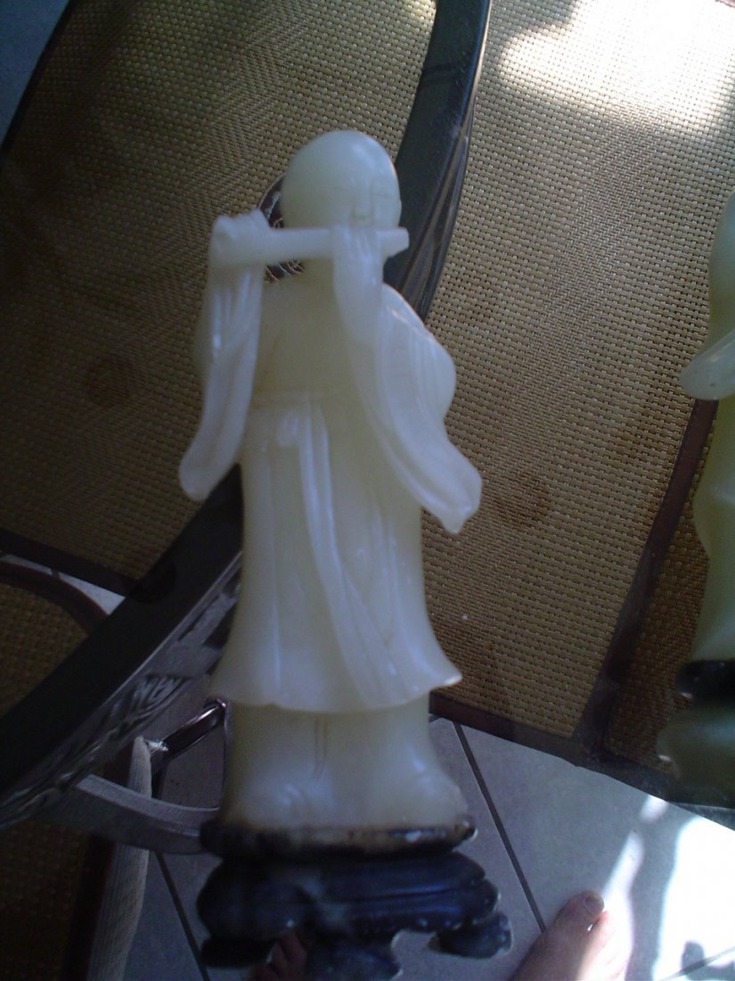 Chinese carving 7 inches tall. Boy