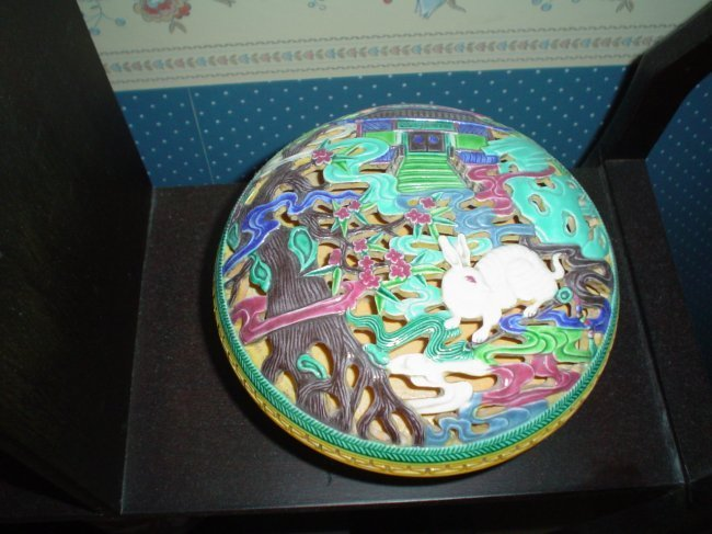 Chinese qianlong marked ink box, large, very nice