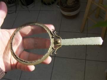 Chinese ming dyansty jade handle loop